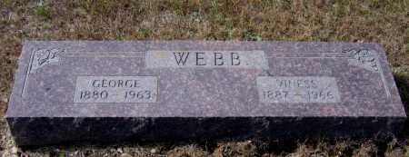 WEBB, VINESS - Lawrence County, Arkansas | VINESS WEBB - Arkansas Gravestone Photos