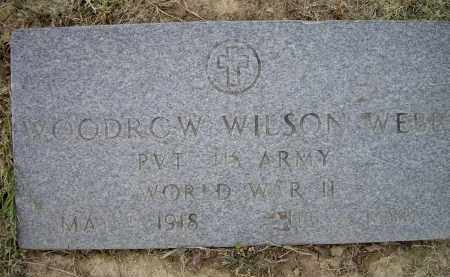 WEBB (VETERAN WWII), WOODROW WILSON - Lawrence County, Arkansas | WOODROW WILSON WEBB (VETERAN WWII) - Arkansas Gravestone Photos