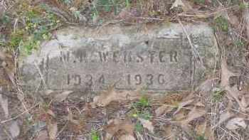 WEBSTER, M. A. - Lawrence County, Arkansas | M. A. WEBSTER - Arkansas Gravestone Photos