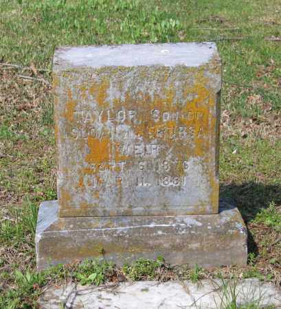 WEIR, ALFRED TAYLOR - Lawrence County, Arkansas | ALFRED TAYLOR WEIR - Arkansas Gravestone Photos