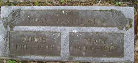 WEIR, DOLPH - Lawrence County, Arkansas | DOLPH WEIR - Arkansas Gravestone Photos