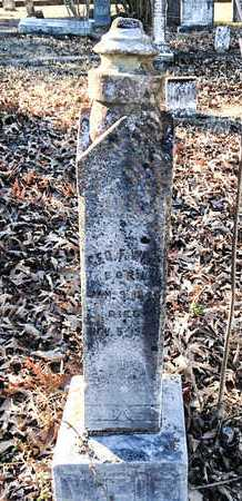 WEIR (VETERAN CSA), GEORGE F. - Lawrence County, Arkansas | GEORGE F. WEIR (VETERAN CSA) - Arkansas Gravestone Photos