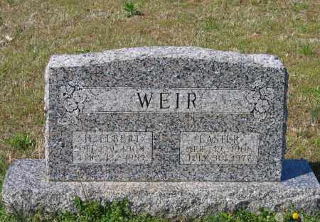 WEIR, EASTER - Lawrence County, Arkansas | EASTER WEIR - Arkansas Gravestone Photos
