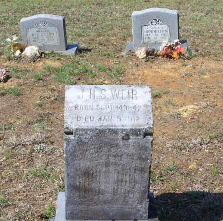 WEIR (VETERAN CSA), JOHN HAMILTON SLOAN - Lawrence County, Arkansas | JOHN HAMILTON SLOAN WEIR (VETERAN CSA) - Arkansas Gravestone Photos