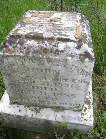 WELBON, THOMAS - Lawrence County, Arkansas | THOMAS WELBON - Arkansas Gravestone Photos