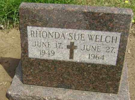 WELCH, RHONDA SUE - Lawrence County, Arkansas | RHONDA SUE WELCH - Arkansas Gravestone Photos