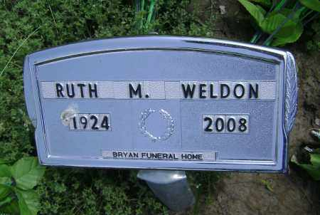 WELDON, MAXINE RUTH - Lawrence County, Arkansas | MAXINE RUTH WELDON - Arkansas Gravestone Photos