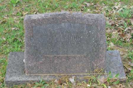 "DAVIS WELLS, LAURA OLIVE ""OLLIE"" - Lawrence County, Arkansas 