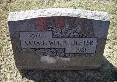 WRIGHT WELLS, SARAH JANE - Lawrence County, Arkansas | SARAH JANE WRIGHT WELLS - Arkansas Gravestone Photos