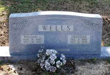 NICHOLS WELLS, DEVOSHA E. - Lawrence County, Arkansas | DEVOSHA E. NICHOLS WELLS - Arkansas Gravestone Photos