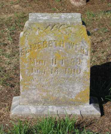 HARDIN WERT, NANCY ELIZABETH - Lawrence County, Arkansas | NANCY ELIZABETH HARDIN WERT - Arkansas Gravestone Photos