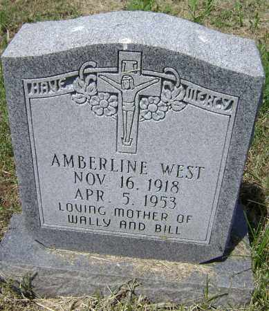 WEST, AMBERLINE - Lawrence County, Arkansas | AMBERLINE WEST - Arkansas Gravestone Photos
