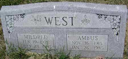WEST, AMBUS - Lawrence County, Arkansas | AMBUS WEST - Arkansas Gravestone Photos