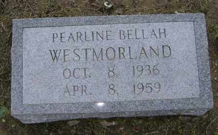 BELLAH WESTMORLAND, PEARLINE - Lawrence County, Arkansas | PEARLINE BELLAH WESTMORLAND - Arkansas Gravestone Photos