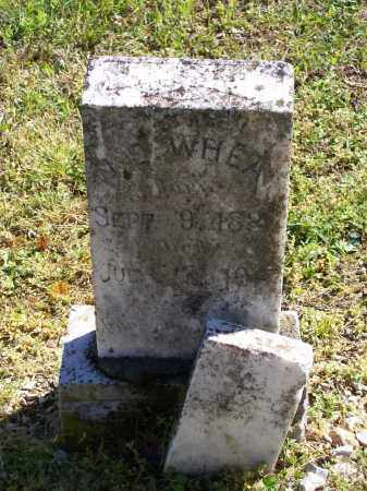 WHEAT (VETERAN CSA), WILLIAM EDWARD - Lawrence County, Arkansas | WILLIAM EDWARD WHEAT (VETERAN CSA) - Arkansas Gravestone Photos