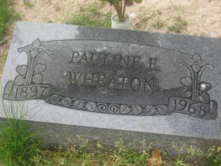 WHEATON, PAULINE E. - Lawrence County, Arkansas | PAULINE E. WHEATON - Arkansas Gravestone Photos