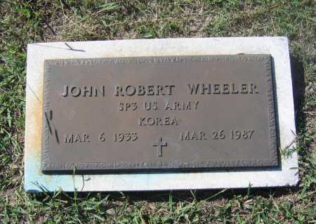 WHEELER (VETERAN KOR), JOHN ROBERT - Lawrence County, Arkansas | JOHN ROBERT WHEELER (VETERAN KOR) - Arkansas Gravestone Photos