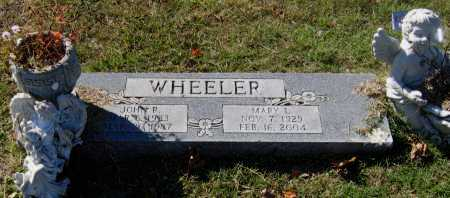 "WHEELER, JOHN ROBERT ""BOB"" - Lawrence County, Arkansas 