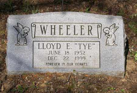 "WHEELER, LLOYD E. ""TYE"" - Lawrence County, Arkansas 