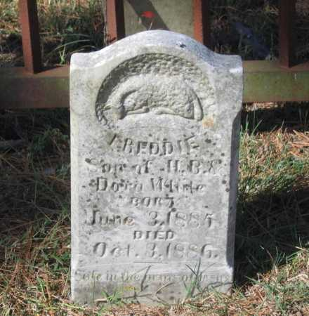 WHITE, FREDDIE - Lawrence County, Arkansas | FREDDIE WHITE - Arkansas Gravestone Photos