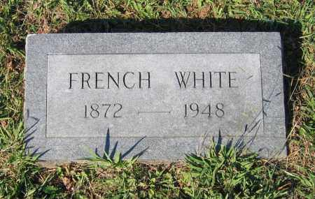 WHITE, FRENCH LEWIS KIDD - Lawrence County, Arkansas | FRENCH LEWIS KIDD WHITE - Arkansas Gravestone Photos