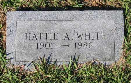 WHITE, HATTIE ANN - Lawrence County, Arkansas | HATTIE ANN WHITE - Arkansas Gravestone Photos