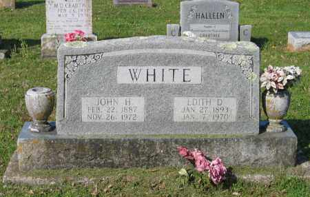 WHITE, EDITH D. - Lawrence County, Arkansas | EDITH D. WHITE - Arkansas Gravestone Photos