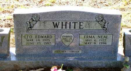 WHITE, LEO EDWARD - Lawrence County, Arkansas | LEO EDWARD WHITE - Arkansas Gravestone Photos