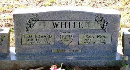 NEAL WHITE, ERMA - Lawrence County, Arkansas | ERMA NEAL WHITE - Arkansas Gravestone Photos
