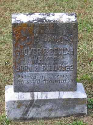 WHITE, LOIS - Lawrence County, Arkansas | LOIS WHITE - Arkansas Gravestone Photos