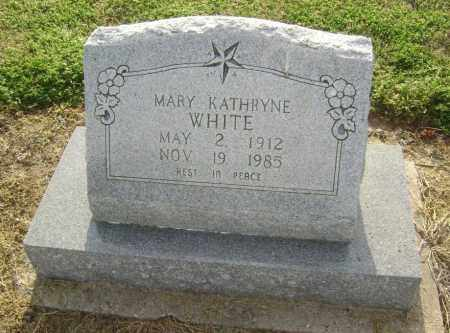 WHITE, MARY KATHRYNE - Lawrence County, Arkansas | MARY KATHRYNE WHITE - Arkansas Gravestone Photos
