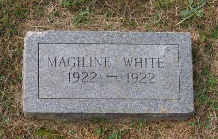 WHITE, MAGILINE - Lawrence County, Arkansas | MAGILINE WHITE - Arkansas Gravestone Photos
