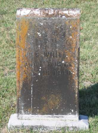 "WHITE, TOLLETT FRANKLIN  ""T. F."" - Lawrence County, Arkansas 