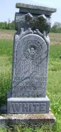 WHITE, WILLIAM P. - Lawrence County, Arkansas | WILLIAM P. WHITE - Arkansas Gravestone Photos