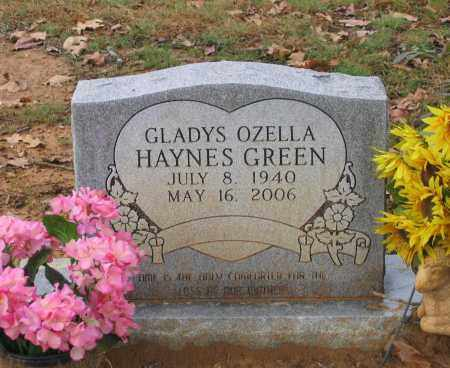 GREEN, GLADYS OZELLA WHITLEY - Lawrence County, Arkansas | GLADYS OZELLA WHITLEY GREEN - Arkansas Gravestone Photos