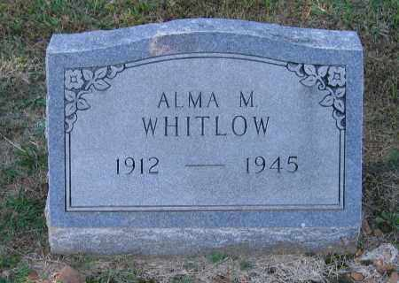 WHITLOW, ALMA M. - Lawrence County, Arkansas | ALMA M. WHITLOW - Arkansas Gravestone Photos