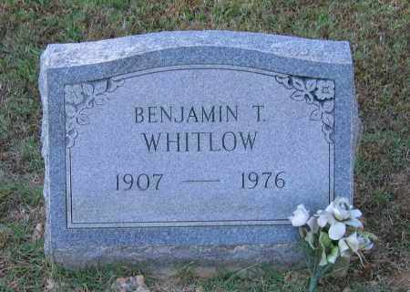 WHITLOW, BENJAMIN TOLBERT - Lawrence County, Arkansas | BENJAMIN TOLBERT WHITLOW - Arkansas Gravestone Photos