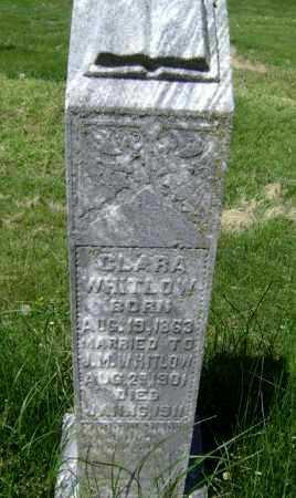 WHITLOW, CLARA - Lawrence County, Arkansas | CLARA WHITLOW - Arkansas Gravestone Photos