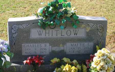 WHITLOW, CHARLES REEVES - Lawrence County, Arkansas | CHARLES REEVES WHITLOW - Arkansas Gravestone Photos