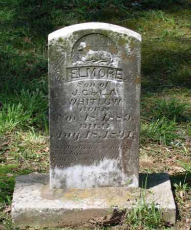 WHITLOW, ELMORE - Lawrence County, Arkansas | ELMORE WHITLOW - Arkansas Gravestone Photos
