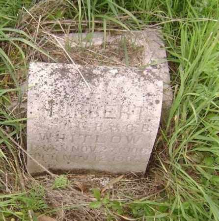 WHITLOW, HUBERT - Lawrence County, Arkansas | HUBERT WHITLOW - Arkansas Gravestone Photos