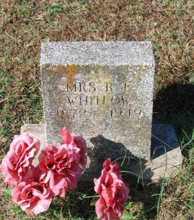 HOPKINS WHITLOW, RACHEL ETHEL - Lawrence County, Arkansas | RACHEL ETHEL HOPKINS WHITLOW - Arkansas Gravestone Photos