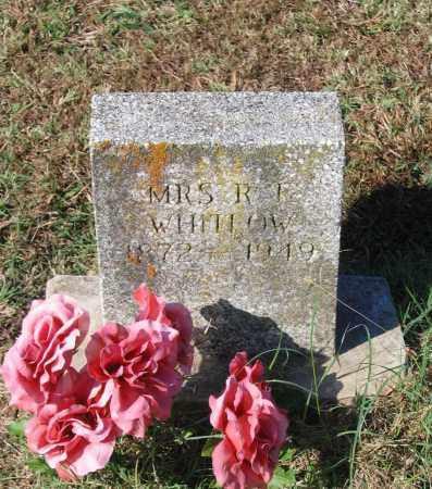WHITLOW, RACHEL ETHEL - Lawrence County, Arkansas | RACHEL ETHEL WHITLOW - Arkansas Gravestone Photos