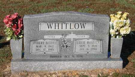 DRURY WHITLOW, LILLIE ROSETTA - Lawrence County, Arkansas | LILLIE ROSETTA DRURY WHITLOW - Arkansas Gravestone Photos