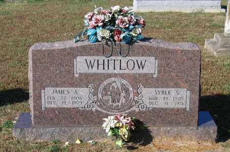 WHITLOW, SYBLE S. - Lawrence County, Arkansas | SYBLE S. WHITLOW - Arkansas Gravestone Photos
