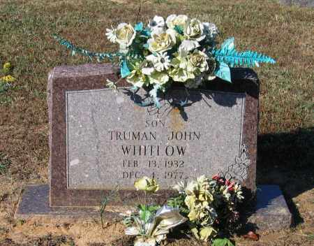 WHITLOW, TRUMAN JOHN - Lawrence County, Arkansas | TRUMAN JOHN WHITLOW - Arkansas Gravestone Photos