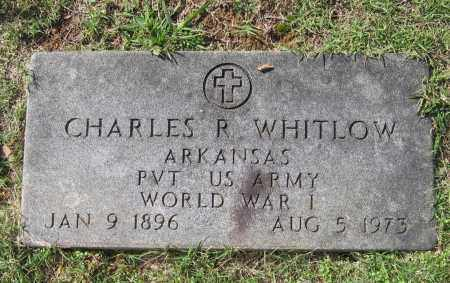WHITLOW (VETERAN WWI), CHARLES REEVES - Lawrence County, Arkansas | CHARLES REEVES WHITLOW (VETERAN WWI) - Arkansas Gravestone Photos