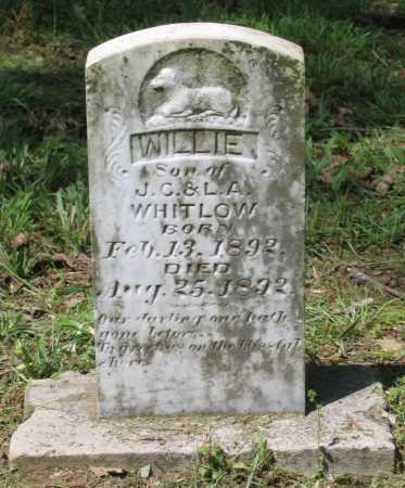 WHITLOW, WILLIE - Lawrence County, Arkansas | WILLIE WHITLOW - Arkansas Gravestone Photos