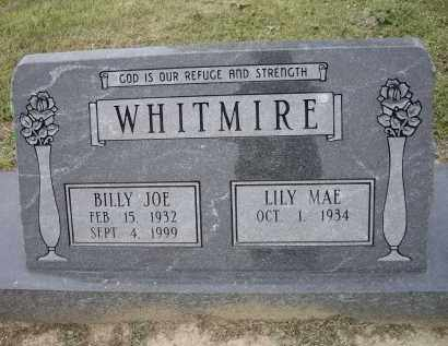 WHITMIRE, BILLY JOE - Lawrence County, Arkansas | BILLY JOE WHITMIRE - Arkansas Gravestone Photos