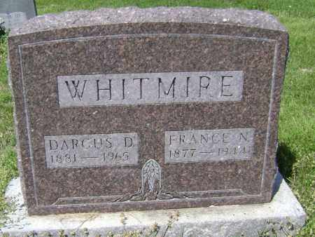 "WHITMIRE, FRANCIS NEWTON ""FRANCE"" - Lawrence County, Arkansas 